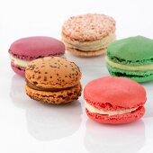 Several different macarons