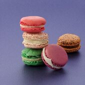 Five different macarons