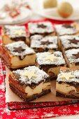 Poppyseed cheese cake for Christmas
