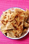 Paratha (unleavened Indian bread)