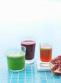 Three vitamin drinks
