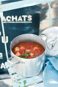 Spanish fish soup