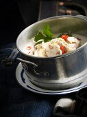 Tom Ka Gai (coconut soup with chicken, Thailand)