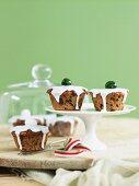 Mini Christmas cakes (English)