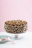 Chocolate-meringue tart