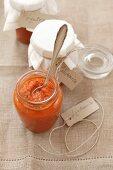 Ljutenica (tomato relish from Bulgaria)