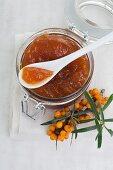 Sea buckthorn jam