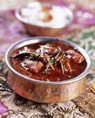 Lamb vindaloo (India)