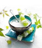 Ajoblanco (cold garlic soup, Spain)