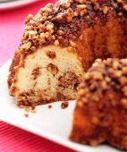 Sour Cream Bundt Cake with Nuts