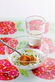 Sweet potato gnocchi with herb yogurt