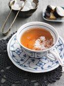 Tea with rock sugar