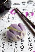 Iris wagashi