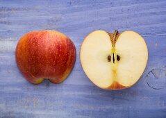 Apfelhälften