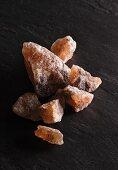Unrefined stone salt