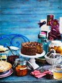 Cakes and sweet treats made to grandma's recipes