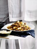 Pappardelle with hare, onions and rosemary