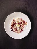 Risotto with radicchio