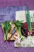 Vegetables for Asian cuisine