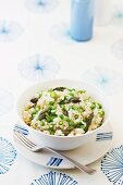 Risotto verde (asparagus risotto with peas, Italy)