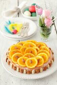 Almond and orange cake