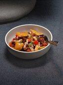 Chilli with smoked haddock
