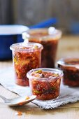 Fig chutney with pistachios
