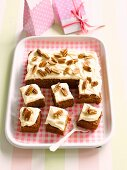 Carrot and pecan nut cake