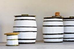 Several casks of olive oil (Tunisia)