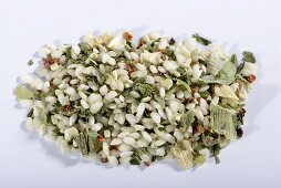 A ready-made risotto mix with wild garlic and dried vegetables