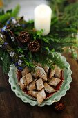 Christmassy Magenbrot (spiced Swiss bread)