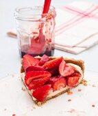 Strawberrytart with Lemon Curd