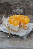 Mandarin and Campari layer cake