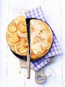 Gateau de Vully (yeast-risen cake, Switzerland)