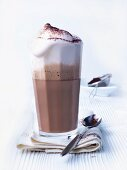 Cocoa with milk froth