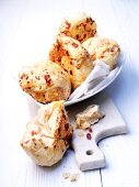 Bacon-cheese rolls