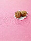 Pumpkin Pie Muffins with Pumpkin Seeds
