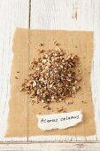 Dried sweet flag (Acorus calamus)