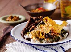 Nasi Padang (Traditional Indonesian food)