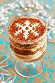 Gingerbread tiramisu for Christmas