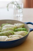 Stuffed Cabbage in a Pan