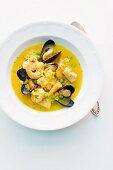 Paella soup