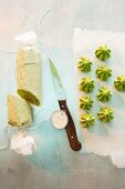 Herb butter (roll and rosettes)