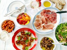 Appetisers and antipasti