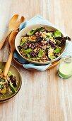 Warm beetroot and quinoa salad