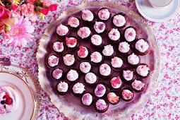 Mini cupcakes for tea