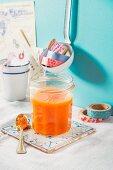 Pumpkin and grapefruit jam