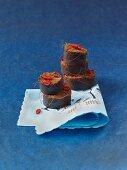 Chilli chocolate cakes