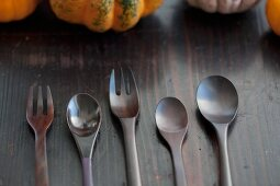 Wooden spoons and forks