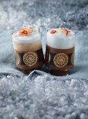 Karibischer Milchkaffee mit Chili & Kokoslikör